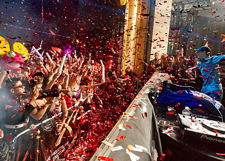 Deadmau5 celebrates Òdeadmau5 DayÓ  and his first residency show at XS Nightclub in Las Vegas, NV on January 2, 2012