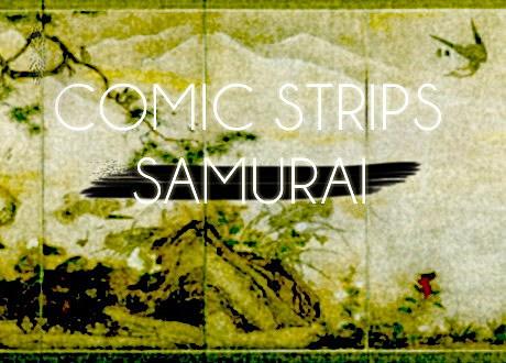 comic strips samurai
