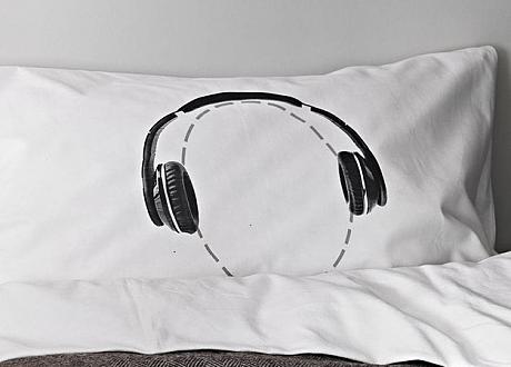 headphone pillow