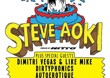 steve aoki the shrine