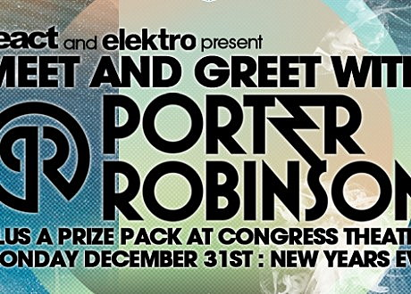 Porter Robinson Congress Chicago Contest