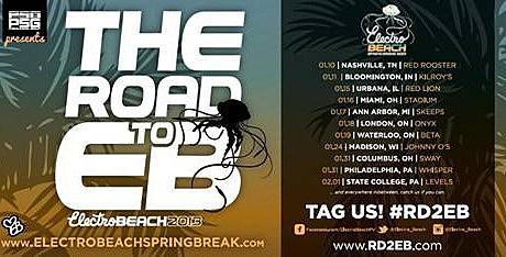 electro beach tour