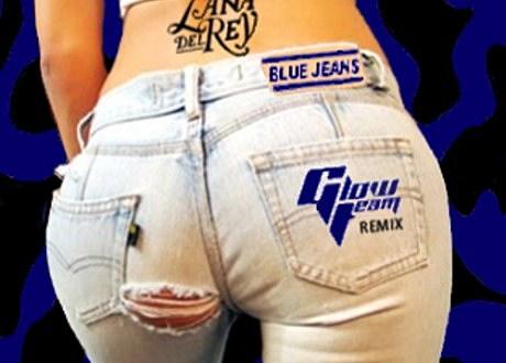 lana del rey blue jeans glow team remix
