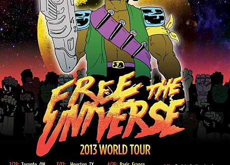 major lazer free the universe tour