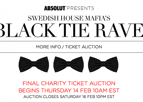 black tie rave swedish house mafia
