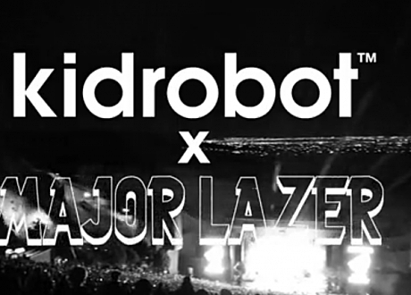 kid robot major lazer