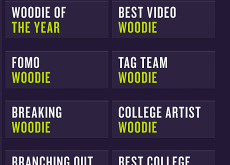 woodie awards 2013