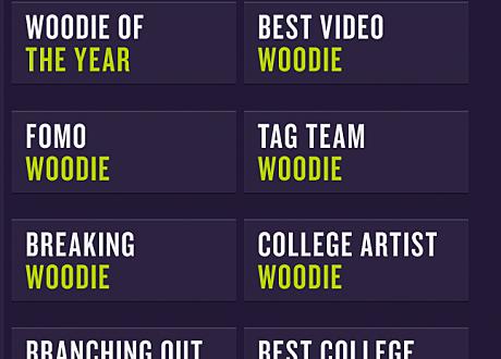woodie awards 2013