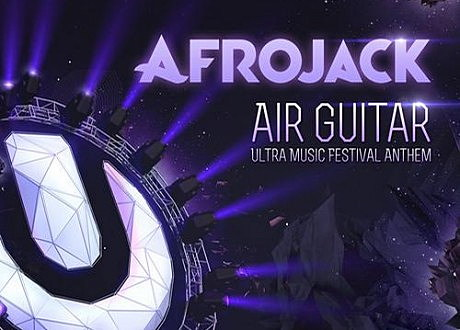 afrojack air guitar