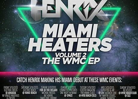henrix miami heaters ep
