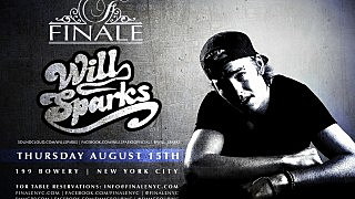 Will Sparks - Thursday August 15th