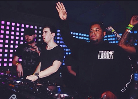 Carnage, Hardwell, and Gareth of Knife Party @ Future Music Festival, Australia