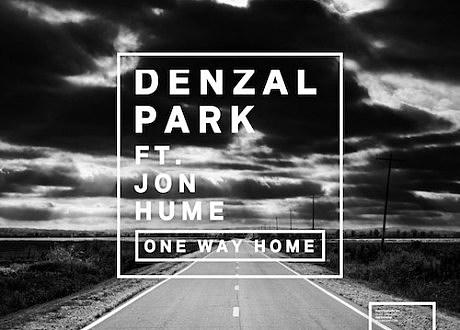 """Denzal Park """"One Way Home"""" album artwork"""