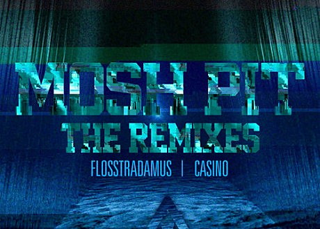 Flosstradamus 'Mosh Pit' remixes EP album artwork.