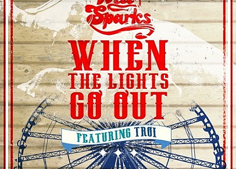 "Will Sparks' ""When The Lights Go Out"" album artwork."