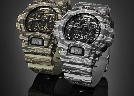 Camo Casio G-Shock Watches.