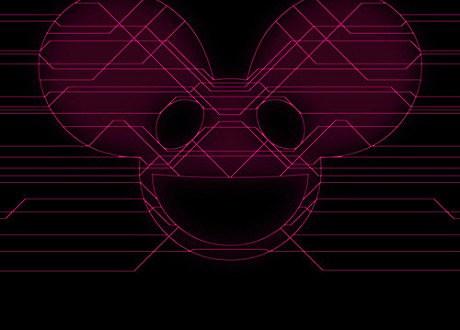 "deadmau5 ""Infra Turbo Pigcart Racer"" album artwork"