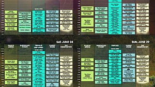 Electric Forest schedule