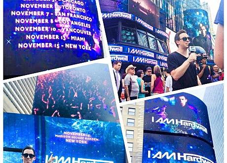 Hardwell Times Square