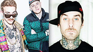 loudpvck and Travis Barker
