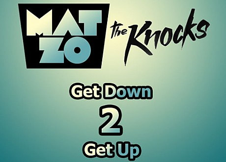 "Mat Zo & The Knocks ""Get Down 2 Get Up"" album artwork"