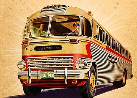 TomorrowWorld Busses
