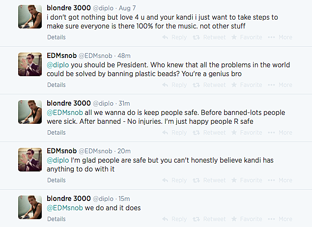 Diplo and EDM Snob Discuss Kandi Ban
