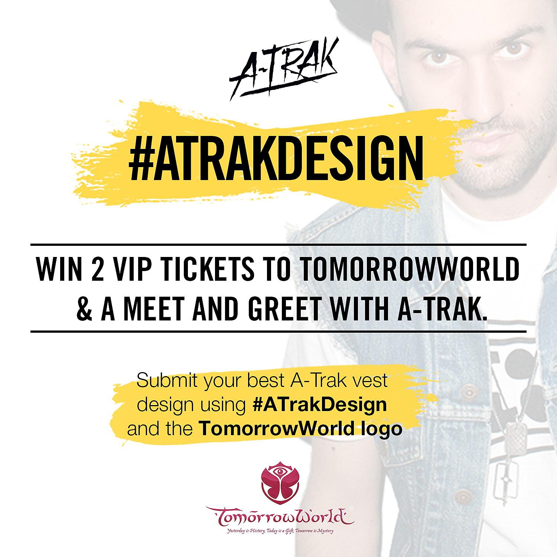 Win 2 Vip Tix To Tomorrowworld And A Meet Greet W A Trak