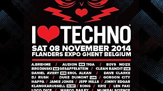 i love techno lineup