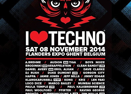 i love techno lineup