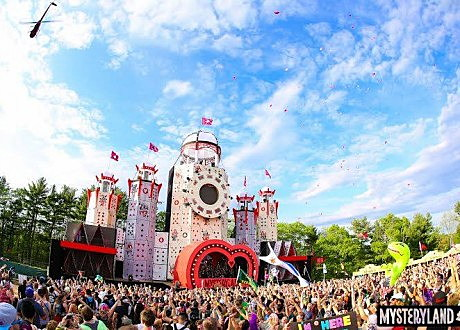 mysteryland stage