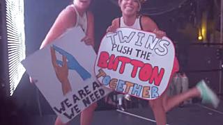 AB twins push button