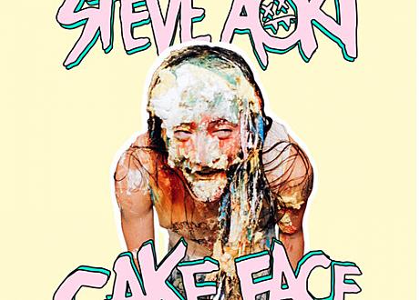 steve aoki cake face